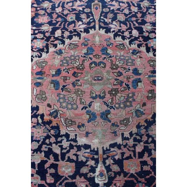"Antique Persian Sarouk Rug - 4'4"" x 6'4"" - Image 6 of 10"
