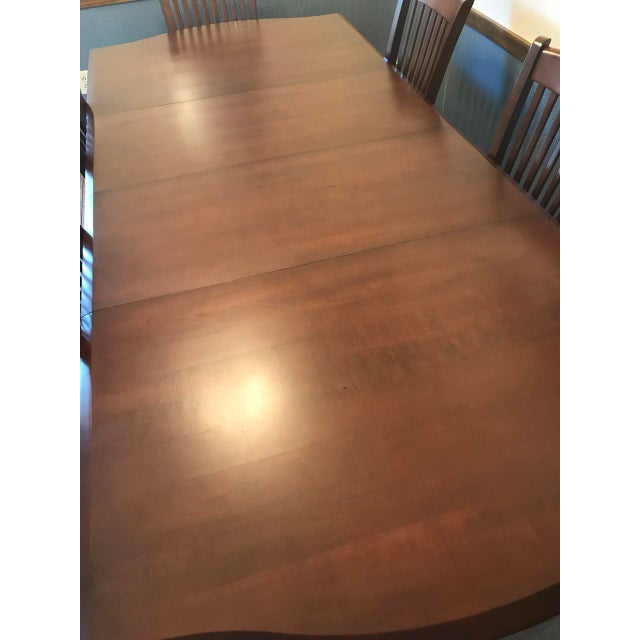 Richardson Brothers Solid Wood Dining Set - Image 6 of 11