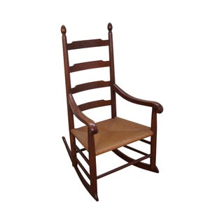 Solid Walnut Shaker Style Rocking Chair