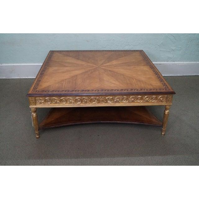 Jonathan Charles Louis XVI Inlaid Coffee Table - Image 2 of 10