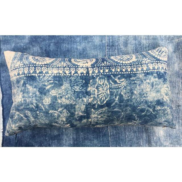 Antique Bleached Batik Pillow - Image 2 of 7