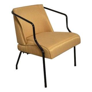 Art Deco Viko Baumritter Style Yellow Chair