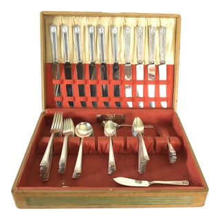 Holmes & Edwards Inlaid Flatware Set- 60 Pieces