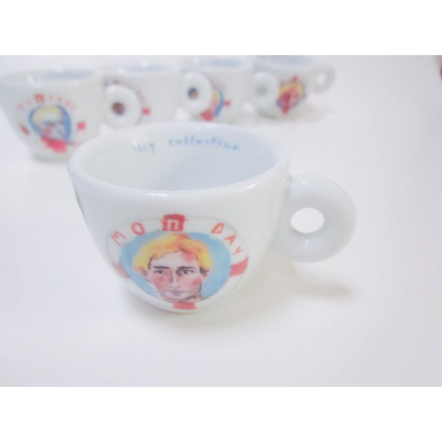 illy Espresso Cups by Julian Schnabel, 2005 - S/5 - Image 5 of 11