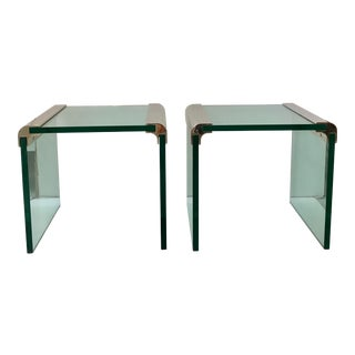 Pace Collection Side Tables - A Pair