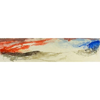 George Turner Abstract Landscape Painting