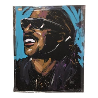 Stevie Wonder Original Painting by David Garibaldi