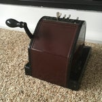 Image of 1930s Antique Paymaster Office Check Writer