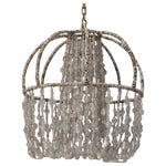 Image of Circa 1900 Unusual All Beaded French Fixture