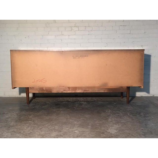 Walnut Mid-Century Danish Modern Dresser - Image 8 of 11