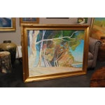 """Image of Ron Elsted """"Overseers of Batiquitos Lagoon"""" Painting"""