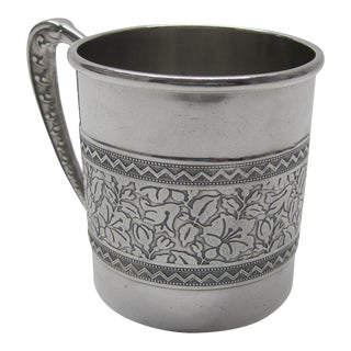 C. 1880s Victorian Silverplate Child's Cup