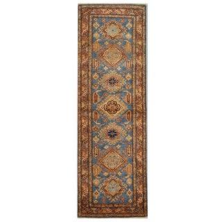 Kazak Wool Rug - 2.5 x 7.2