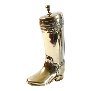 Brass Boot Door Stop