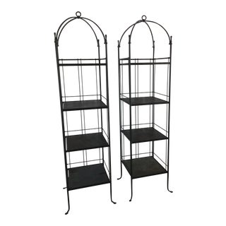 Charleston Forge Etagere - A Pair