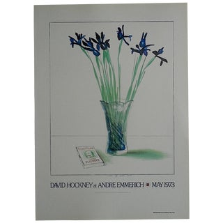 Vintage Poster Lithograph - David Hockney