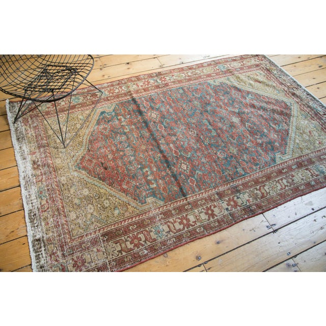 """Antique Malayer Rug - 4'1"""" x 6'7"""" - Image 4 of 10"""