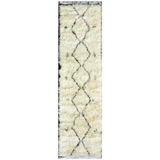 "Moroccan Wool Runner- 2'6"" X 9'11"""