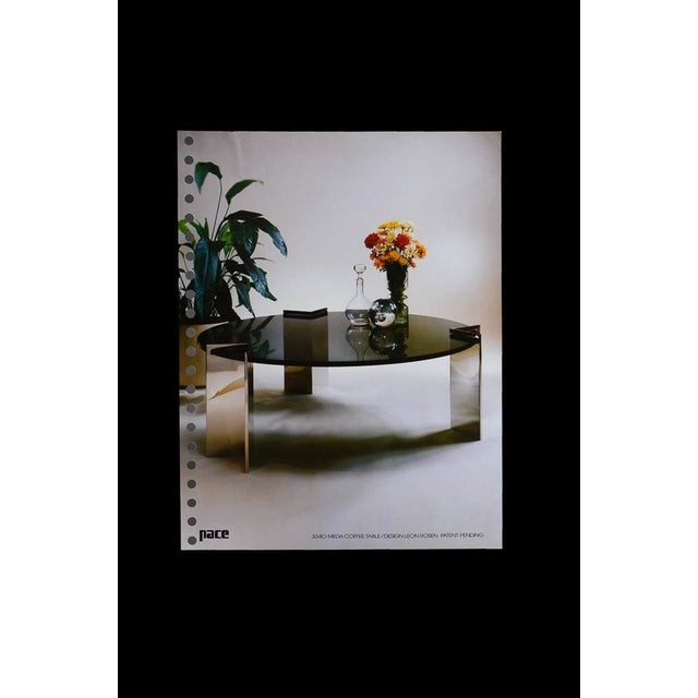 Leon Rosen for Pace Collection Meda Coffee Table - Image 5 of 5