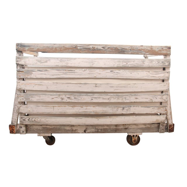Rustic Tufted Wagon Settee - Image 6 of 9