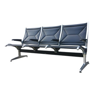 Mid-Century Eames for Herman Miller Tandem Sling Bench