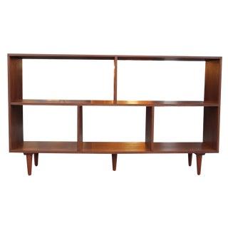 "Walnut 60"" Bookcase"