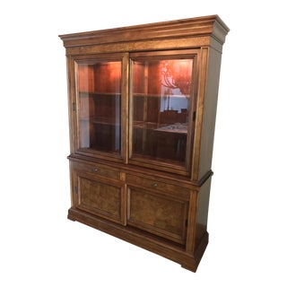 Ethan Allen China Display Cabinet