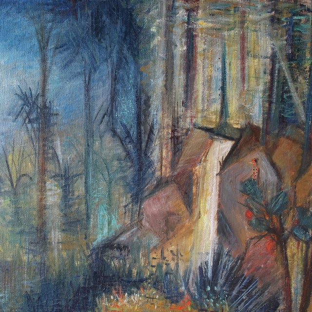 Image of Mid Century Garden of Eden Painting by Bandar