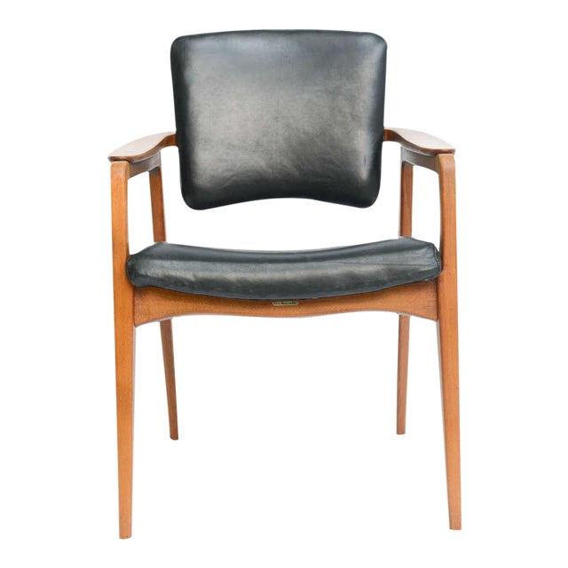 Sigvard Bernadotte Teak Lounge Armchair for France & Daverkosen - Image 1 of 9