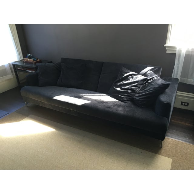 B&B Italia Black Sofa - Image 2 of 7