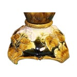 Image of Tall Majolica Table Lamp