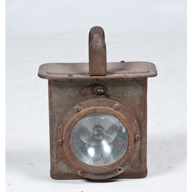 Vintage Industrial Decorative Lantern - Image 2 of 3