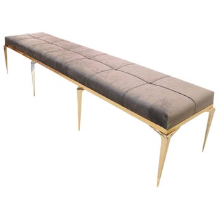 CF Modern Custom Caterpillar Stiletto Bench