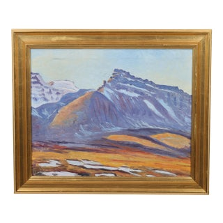 Jacobi Southern Slope Oil Painting