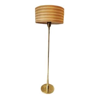 Rembrandt Mid-Century Modern Brass Floor Lamp
