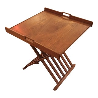 Vintage Drexel Folding Tray Table