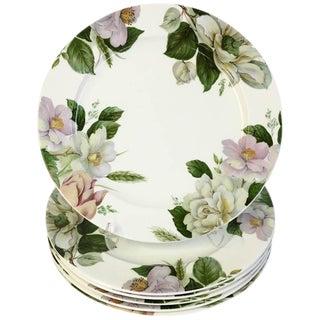 "Royal Staffordshire ""Jardin"" Chop Platters - Set of 6"