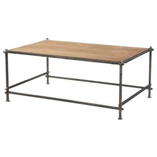 Sarreid LTD Mid-Century Rectangular Coffee Table