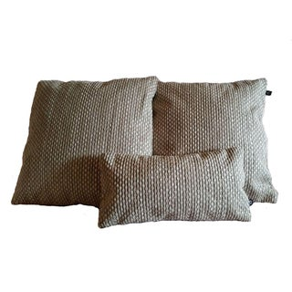 Nobilis Grain De Cafe Pillow Covers - Set of 3