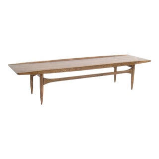 Mid-Century Lane Surfboard Coffee Table