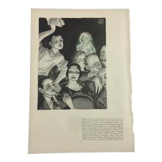 1935 Abner Dean Cartoon