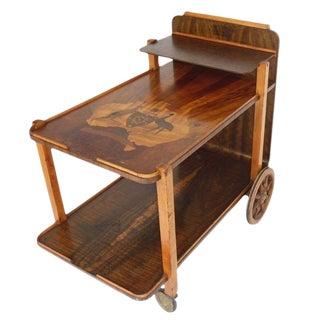 Art Deco Australian Theme Tea Cart