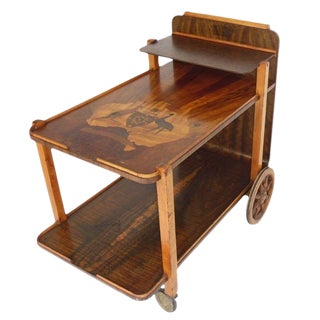 Art Deco Australian Theme Tea Cart