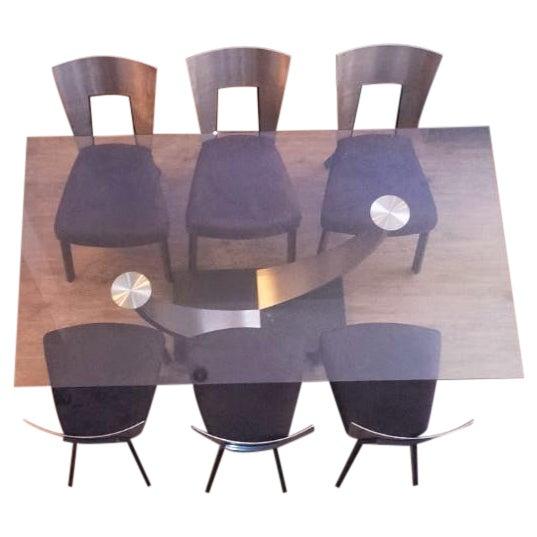 Scandinavian Designs Modern Dining Set - Image 1 of 6