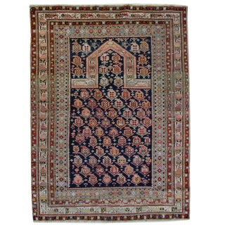 Late 19th Century Shirvan Prayer Rug