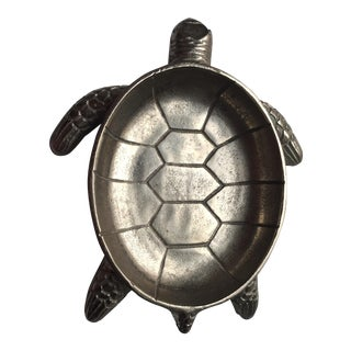 Metal Turtle Platter or Bowl