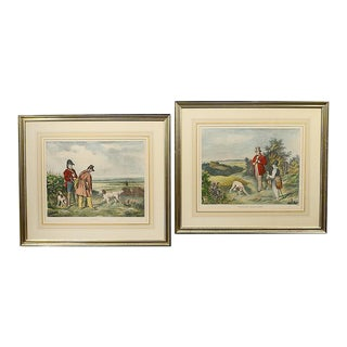 French Sporting Engravings - A Pair