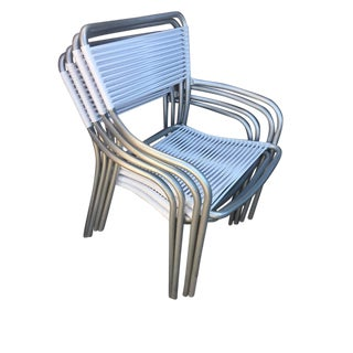 Stacking Tropitone Poolside Chairs - Set of 4
