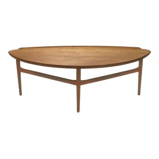 Finn Juhl Teak Coffee Table by Baker