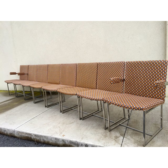 Milo Baughman ForThayer Coggin Chairs - Set of 8 - Image 5 of 11